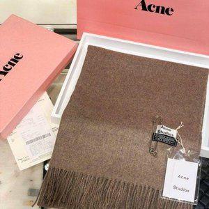 Acne studios Brown wool shawl